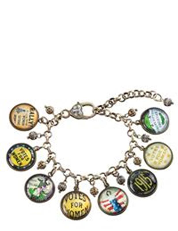 Votes for Women Charm Bracelet